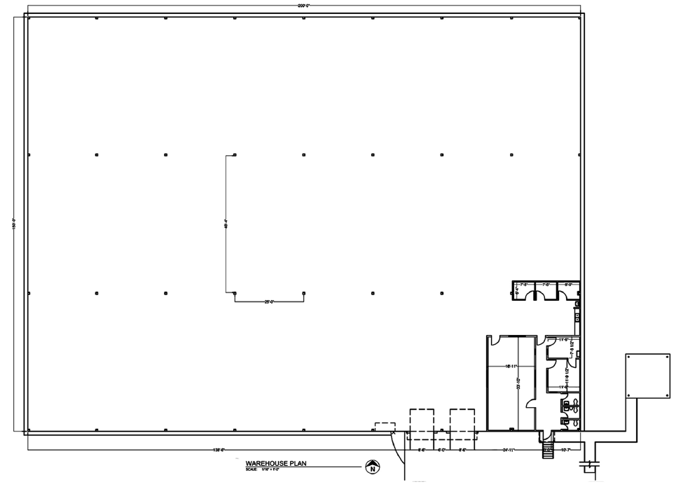 2460 S Church floorplan