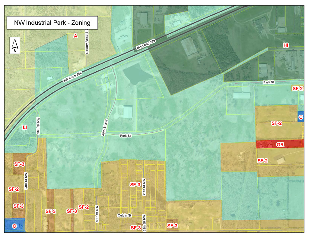 NW Industrial Park Zoning2